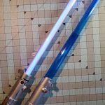 Make your own lightsaber: A sustainable approach to transform a toy lightsaber